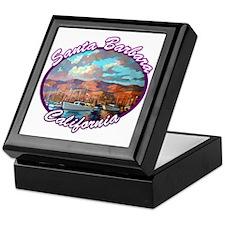 Santa Barbara Keepsake Box