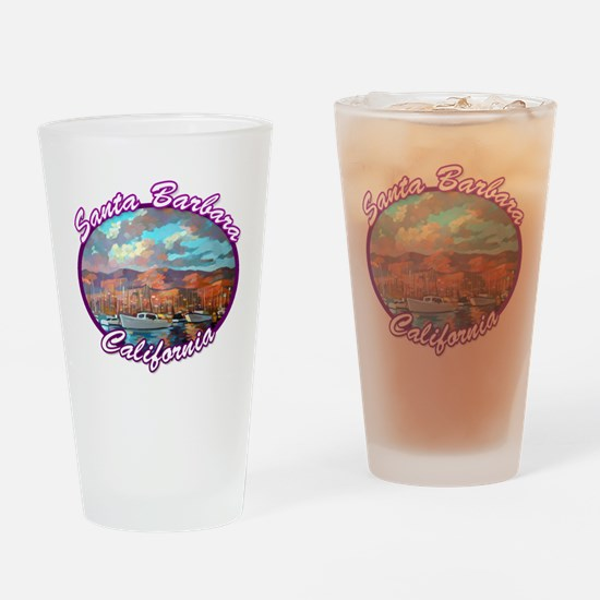 Santa Barbara Drinking Glass