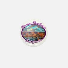 Santa Barbara Mini Button