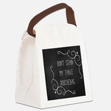 coaster-stain-7 Canvas Lunch Bag