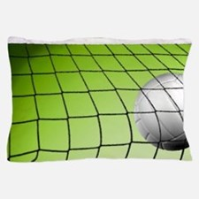Green Volleyball  Net Pillow Case