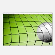 Green Volleyball  Net Postcards (Package of 8)