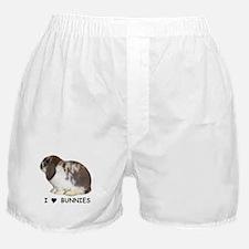 """I love bunnies 1"" Boxer Shorts"