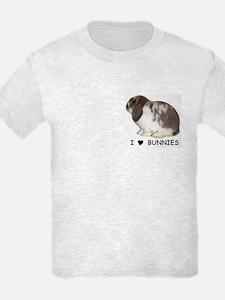"""I love bunnies 1"" T-Shirt"