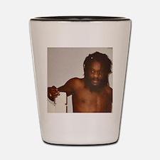 Dennis Brown Topless Shot Glass