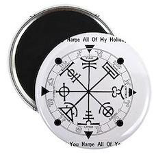 Pagan Wheel of the Year T-Shirt Magnet