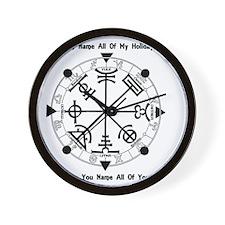 Pagan Wheel of the Year T-Shirt Wall Clock