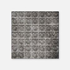 """Old Tiles Square Sticker 3"""" x 3"""""""