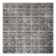 "Old Tiles Square Car Magnet 3"" x 3"""