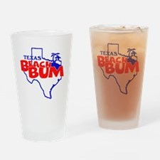 Texas Beach Bum Drinking Glass