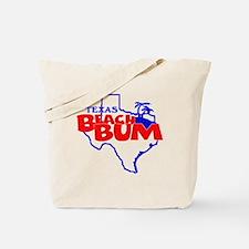 Texas Beach Bum Tote Bag