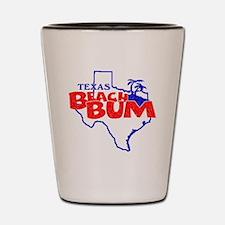 Texas Beach Bum Shot Glass