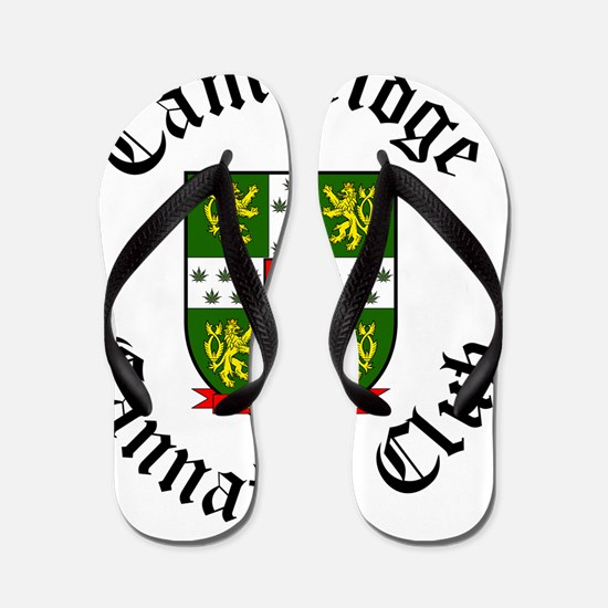 Cambridge Cannabis Club Flip Flops