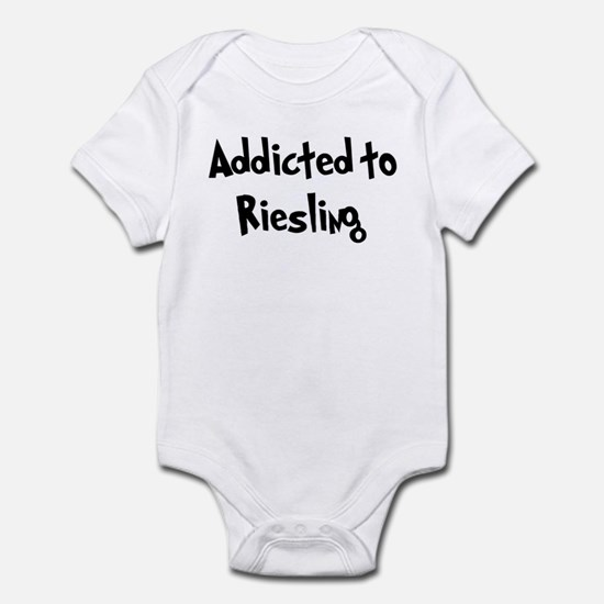 Addicted to Riesling Infant Bodysuit