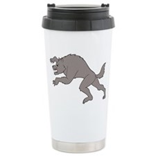 Big Bad Wolf Running Travel Mug