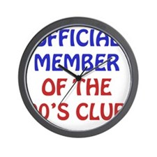 90th Birthday Official Member Wall Clock