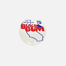 California Beach Bum Mini Button