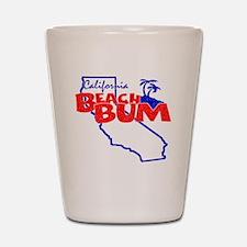 California Beach Bum Shot Glass