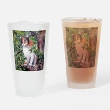 Calico Cat Drinking Glass