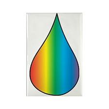 drop water Rectangle Magnet