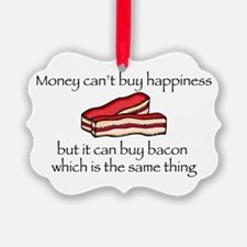 Bacon Money Ornament