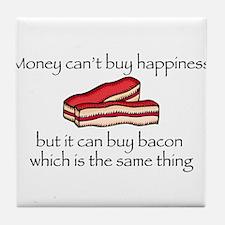 Bacon Money Tile Coaster