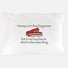 Bacon Money Pillow Case