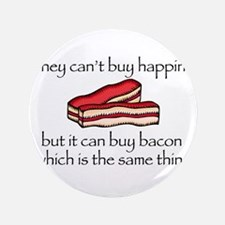 """Bacon Money 3.5"""" Button (100 pack)"""