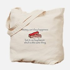 Bacon Money Tote Bag