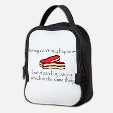 Bacon Money Neoprene Lunch Bag