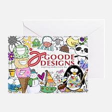 jgoode 2013 Greeting Card