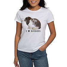 """""""I love bunnies 1"""" Tee"""
