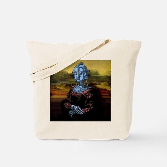 Mecha-lisa-PLLO Tote Bag