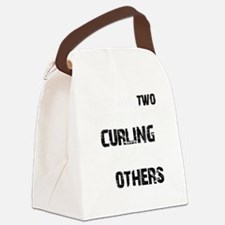 Curling designs Canvas Lunch Bag