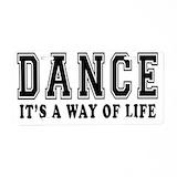 Dance License Plates