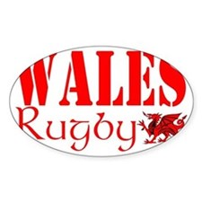 wales rugby hat dragon design Decal
