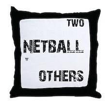 Netball Designs Throw Pillow
