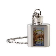 2.41 x 4.42 ITouch 2 Flask Necklace