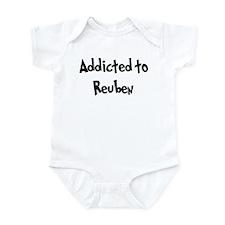Addicted to Reuben Infant Bodysuit