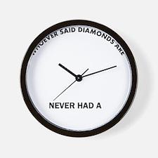 Finnish Spitz Mommy Designs Wall Clock