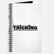 Martial Arts Tricking Logo Journal