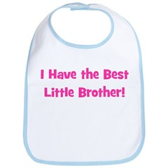 I Have The Best Little Brothe Bib