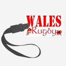 wales rugby combi design Luggage Tag