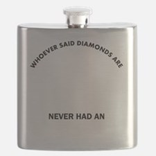 English Foxhound Mommy Designs Flask