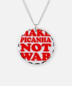 Make Picanha Not War Necklace