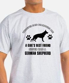 German Shepherd Mommy Designs T-Shirt