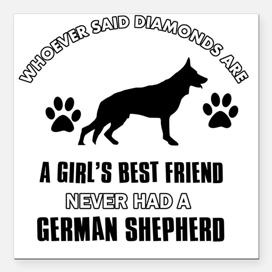 German Shepherd Dog Car Magnets Cafepress