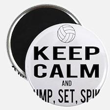 Keep Calm Volleyball Magnet