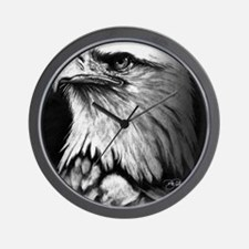 American Bald Eagle Wall Clock