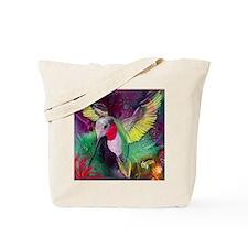 Its Ruby, Humming Bird Design by GG Burns Tote Bag